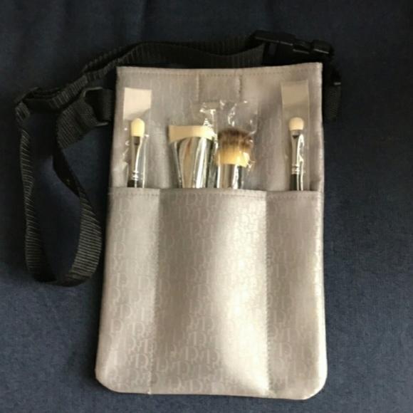 DIOR makeup artist brush tool belt
